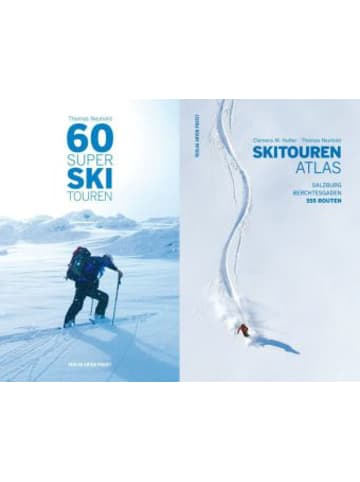Verlag Anton Pustet Skitourenatlas, 2 Bände. 60 Super Skitouren