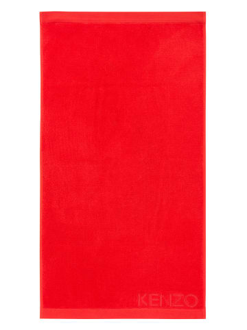 KENZO Home Badetuch ICONIC in rouge