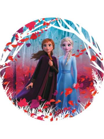 Komar Selbstklebende und runde Vlies Fototapete - Frozen 2 Winter is coming...
