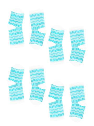 Tag Socks Unisex Kindersocken 4-Paar Multipack Verschiedene Designs in Blau