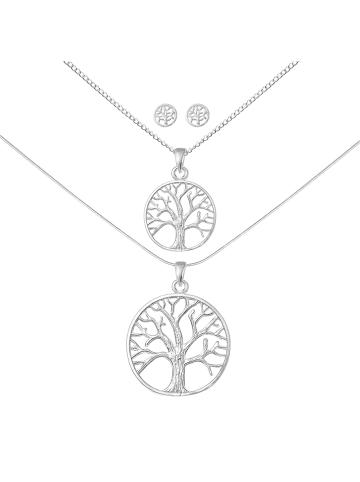 Alexander York Schmuckset TREE OF LIFE in 925 Sterling Silber, 6-tlg.