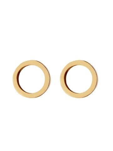 GOOD.designs Ohrstecker Ohrstecker-Kreis in gold