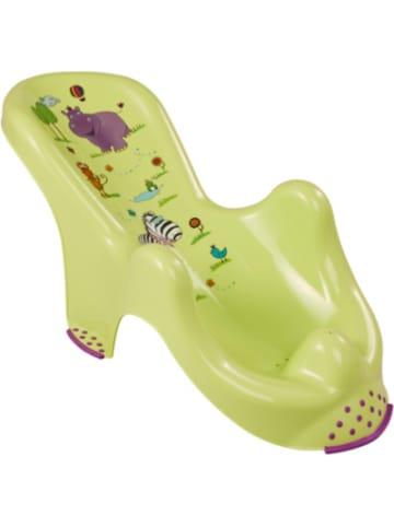 Keeeper Badewannensitz Hippo anatomisch, limegrün