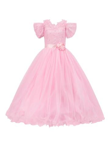 Prestije Prinzessinnenkleid mit Reifrock in rosa