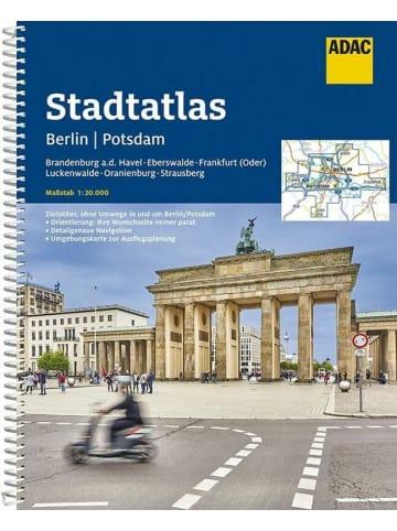 ADAC ADAC Stadtatlas Berlin, Potsdam 1:20 000 mit Brandenburg a.d. Havel,...