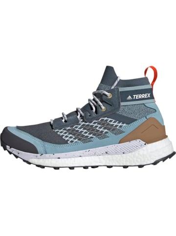 Adidas Wanderschuh Terrex Free Hiker in Blau