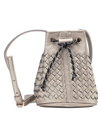 MyMo at night Bucket Bag in Silber