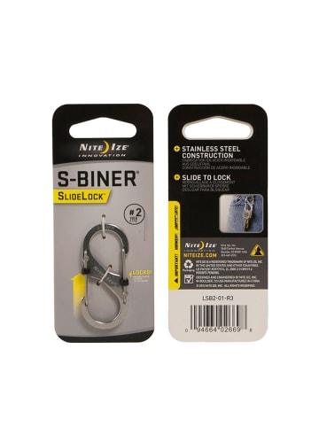 Nite Ize Karabiner SlideLock S-Biner in silber