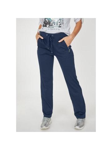 Hajo Polo & Sportswear Jogg-Pants Stay Fresh in marine