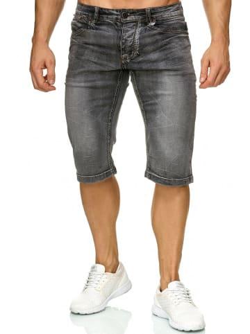 Giani5 Denim Bermuda Jeans Shorts in Grau