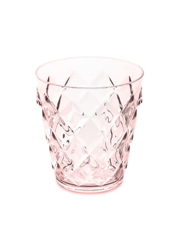 Koziol CRYSTAL S - Glas 250ml in transparent rose quartz