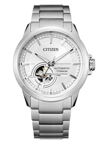 Citizen Analog Uhr 'Super Titanium' In Silber/Silber