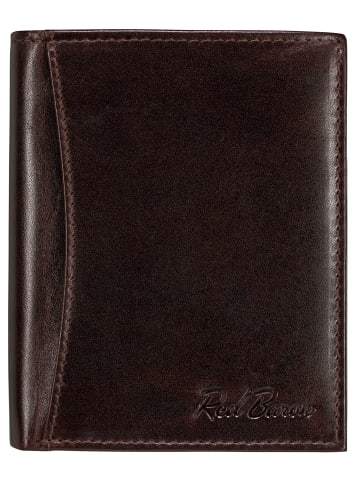 Red Baron Portemonnaie in Rotbraun - (L) 12,5 x (B) 9,8 cm