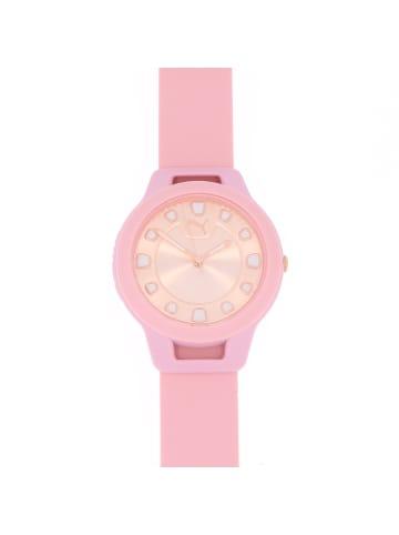 """Puma Time Damenuhr """"Puma P1021"""" in rosa und gold"""