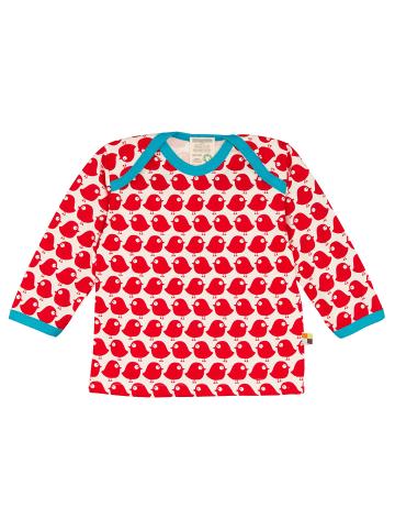 Loud + proud Shirt Langarm in Tomato