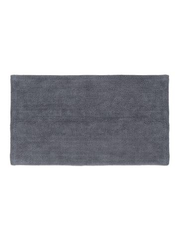 Relaxdays Badteppich in Grau - (B)70 x (T)120 cm