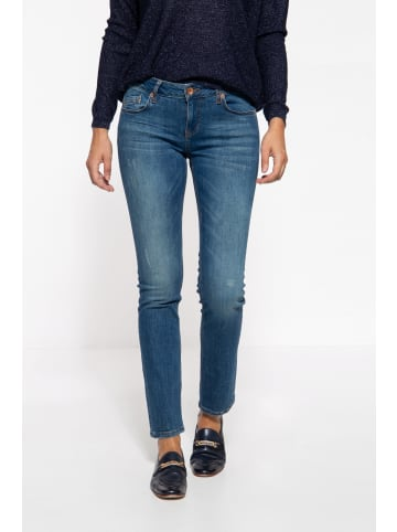 ATT Jeans ATT Jeans ATT JEANS 5-Pocket Jeans mit legeren Waschungen Belinda in dunkelblau