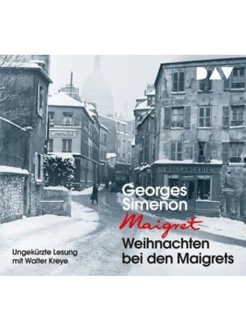 Der Audio Verlag Weihnachten bei den Maigrets, 2 Audio-CDs