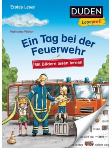 FISCHER Duden Duden Leseprofi - Mit Bildern lesen lernen: Ein Tag bei der Feuerwehr, Erstes Lesen; .