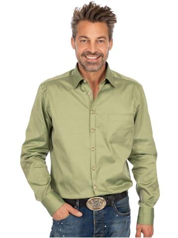 OS-Trachten Hemd Langarm ENNO oliv
