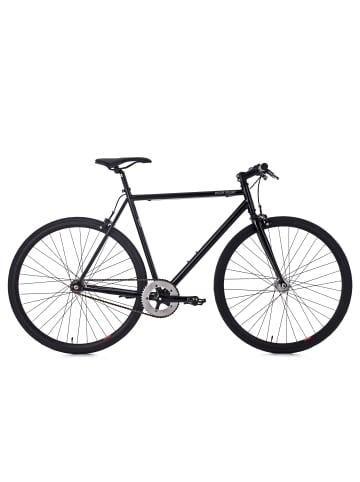 KS CYCLING Fixie Fitnessbike 28'' Flip Flop in schwarz
