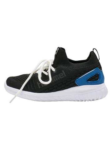 Hummel Sneakers Low Knit Runner Recycle in Scwarz