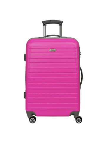 D&N Scion Travel Line 9400 4-Rollen Trolley 66 cm in pink