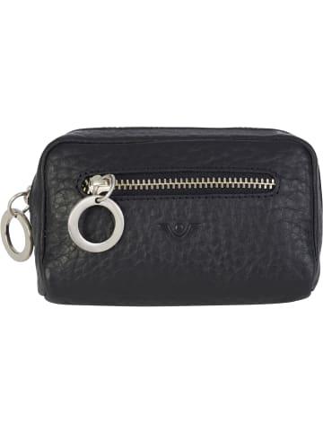 VLD VOi Leather Design Hirsch Tess Schlüsseletui Leder 11 cm in schwarz