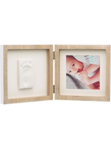 Baby Art Quadratischer Bilderrahmen My Baby Style, Wooden