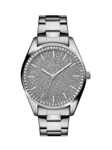 S.Oliver Time Armbanduhr in silber
