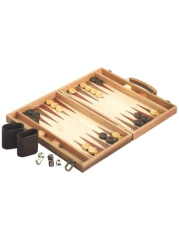 Natural Games Backgammon aus Holz