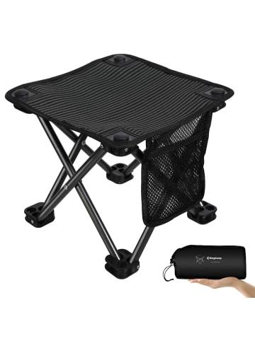 KingCamp Campinghocker Mini Stool in black