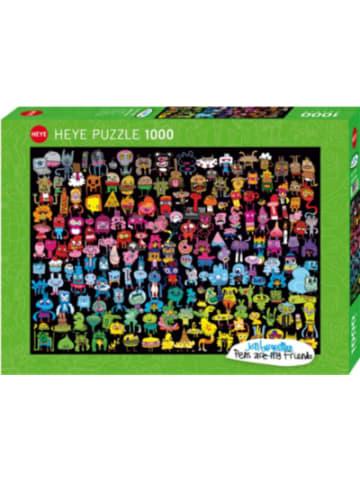 Heye Kalender Puzzle Doodle Rainbow, 1000 Teile
