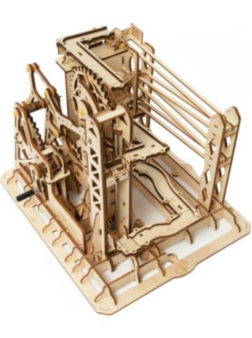 Robotime Marble Explorer - 3D-Holzpuzzle Kugelbahn-Bastelset, 260 Teile