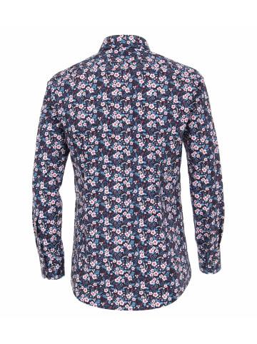Venti Langarm Freizeithemd in türkis