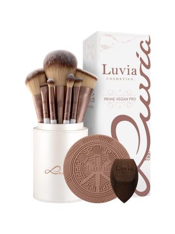 "Luvia Cosmetics 15-tlg. Set: Make-Up Pinsel ""Prime Vegan Pro"" in Permutt/Coffee"
