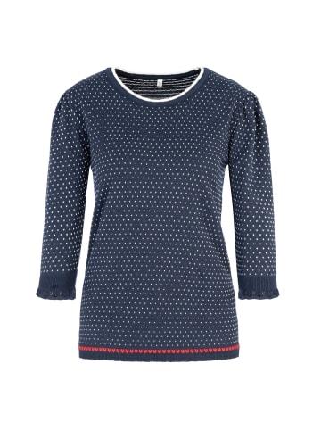 Million X - Women Damen Pullover Marine in navy blue