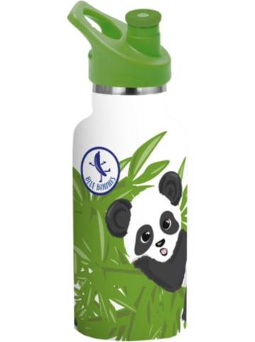P:os Edelstahl-Trinkflasche Blue Bananas Kids Panda, doppelwandig, 350 ml