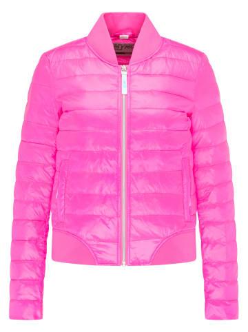 MyMO ATHLSR Bomberjacke in Neon Pink