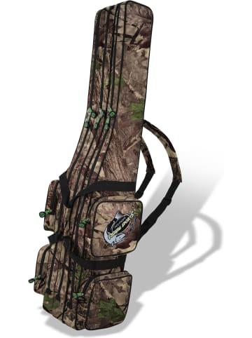"""Normani Rutentasche """"RodBox Triple"""" 1,25 m bis 2,10 m in Hunting Camo"""