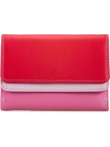 MYWALIT Double Flap Wallet Geldbörse Leder 13 cm in ruby
