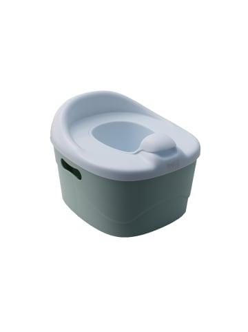"""OdoCare 2in1 Töpfchen und Trittschemel """"Potty Champ"""" in Mint / Weiß"""
