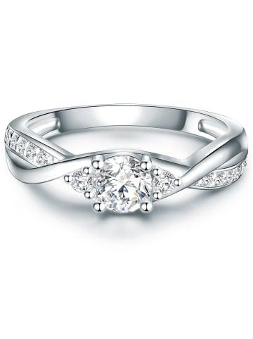 Tresor1934 Ring Sterling Silber Zirkonia in Silber in silber
