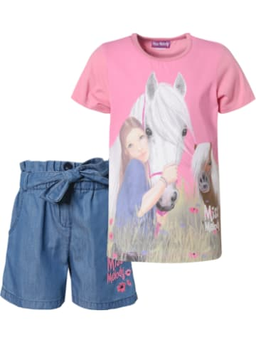 Miss Melody Miss Melody Set T-Shirt und Jeansshorts