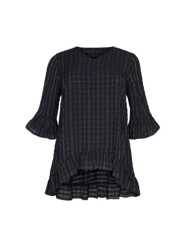 NO.1 by OX Tunika 3/4 Arm Annika in black check