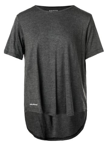 Endurance T-Shirt PRISCILLA LOOSE FIT in 1001BM Black Melange