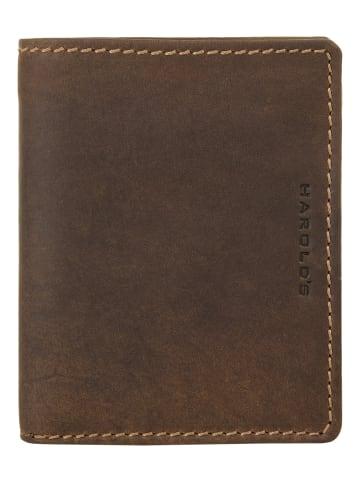 Harold's Geldbörse ANTIC in cognac