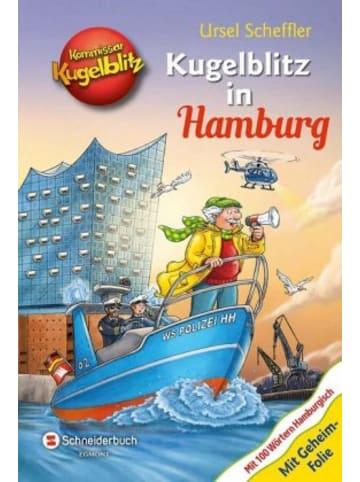 EGMONT Schneiderbuch Kommissar Kugelblitz - Kugelblitz in Hamburg
