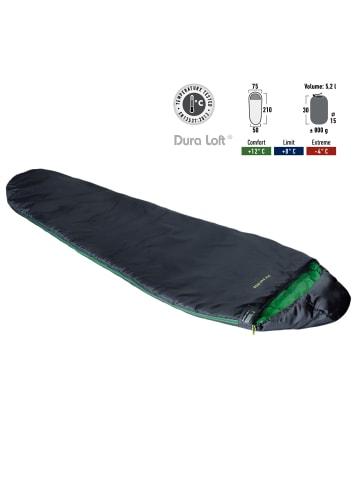 HIGH PEAK Mumienschlafsack Lite Pak 800 - 2 Farben in anthrazit/grün
