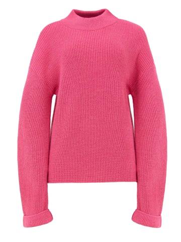 TOPTOP STUDIO Pullover Pullover in rosa